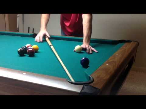 Aiming System For Pool Made Easy