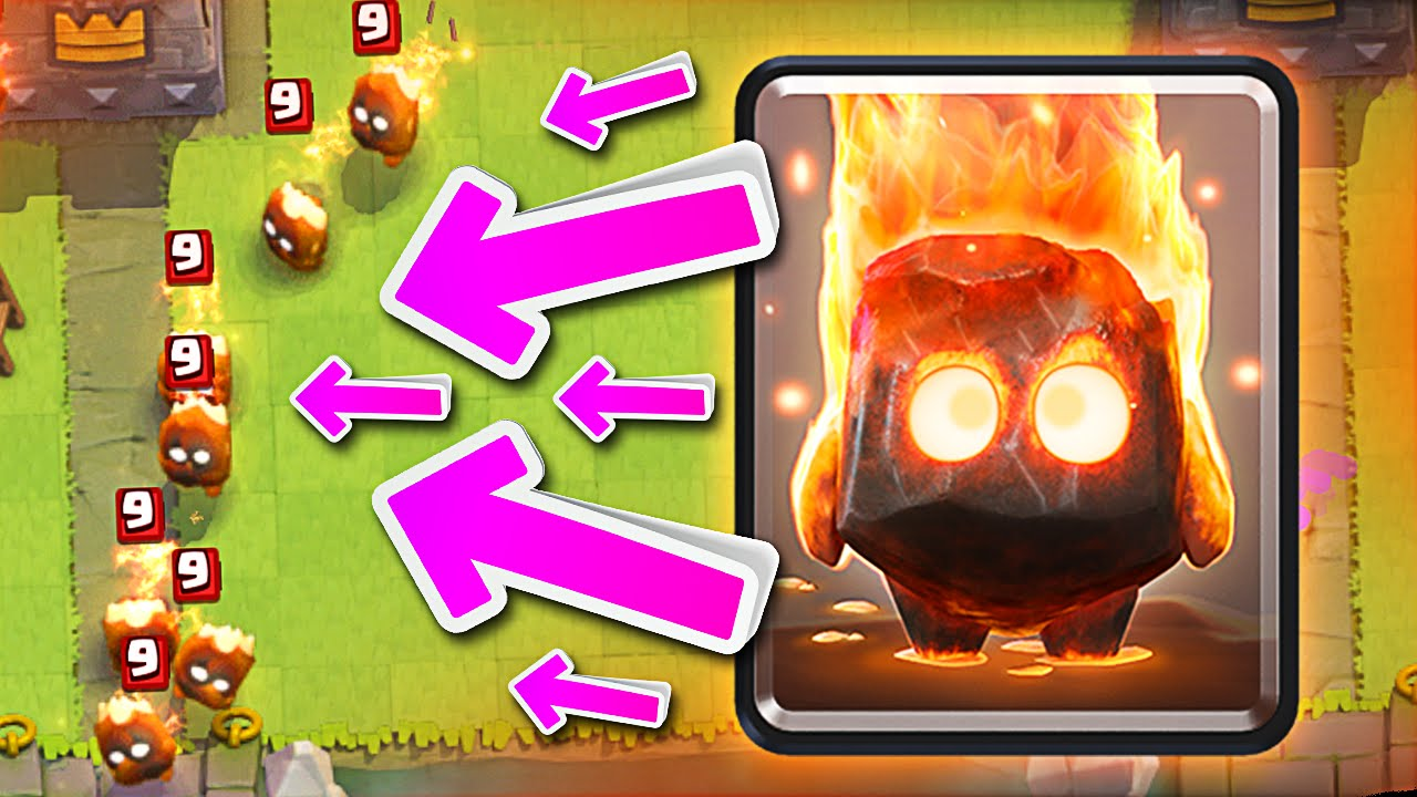 New Troops Clash Royale Fire Spirits Are Awesome