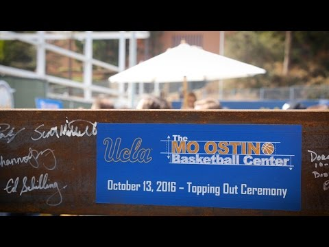 Mo Ostin Basketball Center - Topping Out