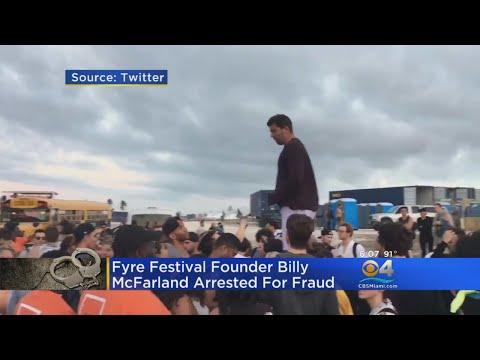 Fyre Festival Founder Billy McFarland Arrested For Fraud Mp3