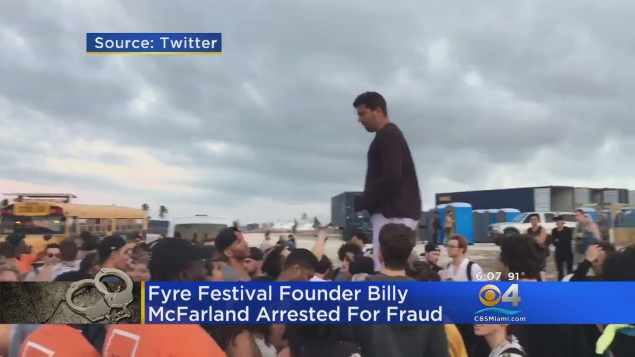Fyre Festival Founder Billy McFarland Pleads Guilty to Fraud, Facing Decades in Prison