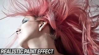 Realistic Painting Effect: Photoshop Tutorial 🖌