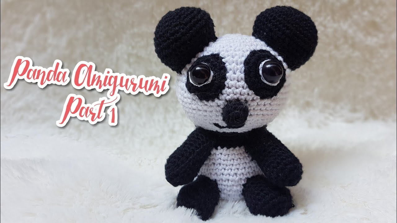 Amigurumi Panda free pattern - A little love everyday! | 720x1280