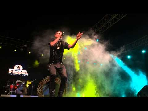 Patoranking's performance to over 20,000 fans at the 2014 Serengeti Fiesta Concert  in Tanzania