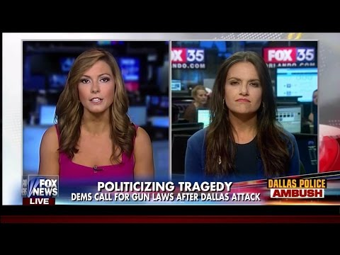 HEATED DEBATE: Between Lisa Boothe and Nomiki Konst as the left calls for more gun laws after the Dallas sniper attack