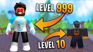 *NEW* REACH MAX LEVEL (OVERPOWERED) in SUPER POWER TRAINING SIMULATOR (Roblox)