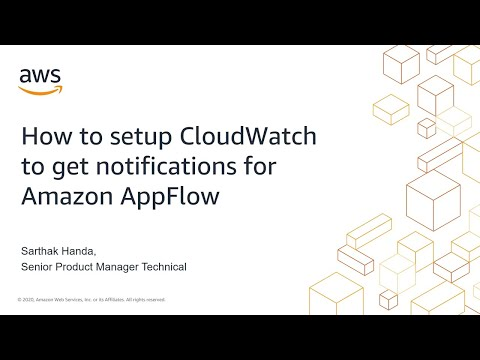 How to Setup CloudWatch Events to Get Flow Notifications from Amazon AppFlow