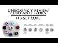 Unboxing y review cubo anti estrés. Fidget cube.