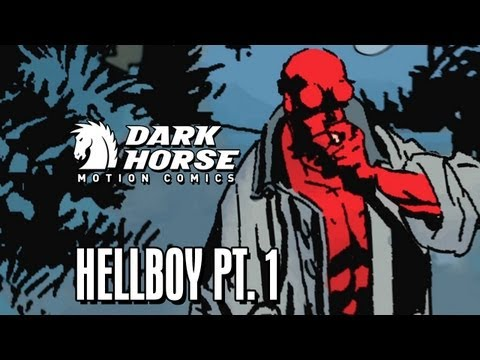 Good vs. Evil, Hellboy vs. the Queen of Blood  Dark Horse Comics: Hellboy: The Fury pt. 1