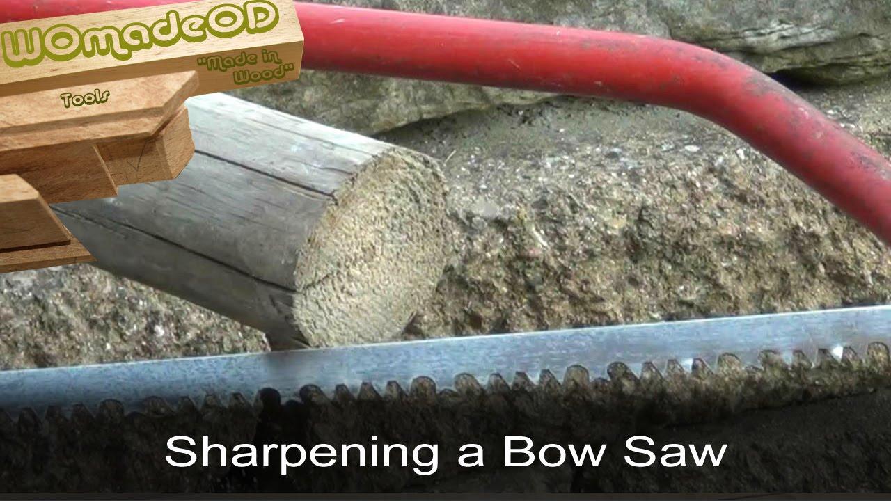 Bow saw sharpening guide youtube keyboard keysfo Gallery