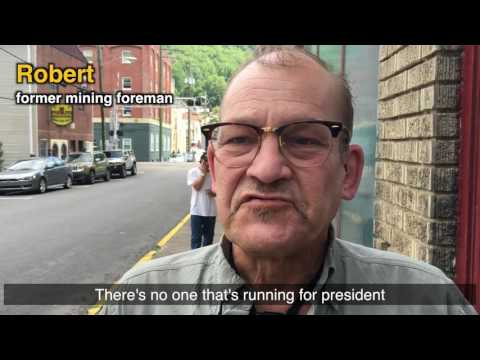 SEP presidential candidate Jerry White speaks to West Virginia coal miners