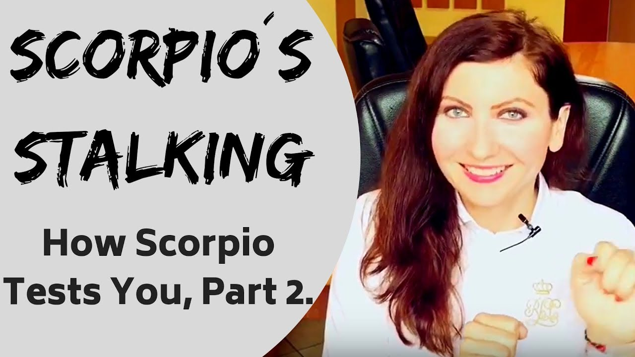 Woman testing me scorpio The Nine