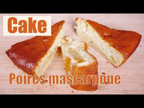 cake-mascarpone-poires-🍐