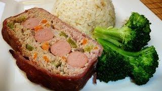 Pastel de Carne Envuelto en Tocino