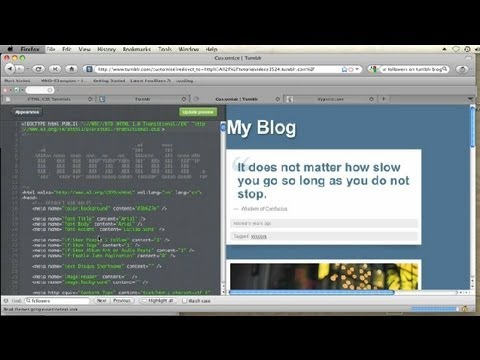 How to Get Music on Your Tumblr Page That Is Not Streampad : CSS Tips & More