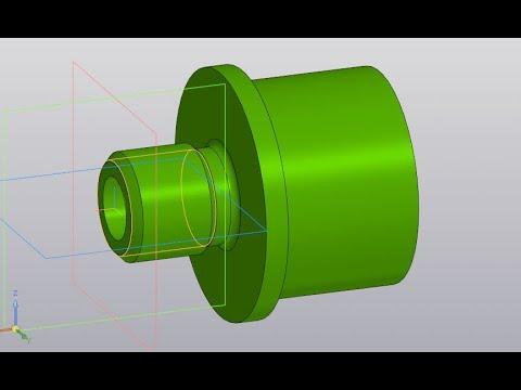 Деталь с наружной резьбой: Компас 3D #8