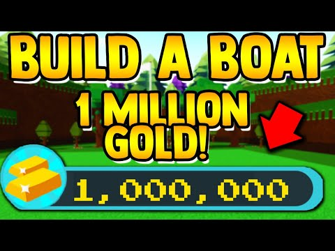 How to get 1 MILLION GOLD!! | Build a boat for Treasure ROBLOX