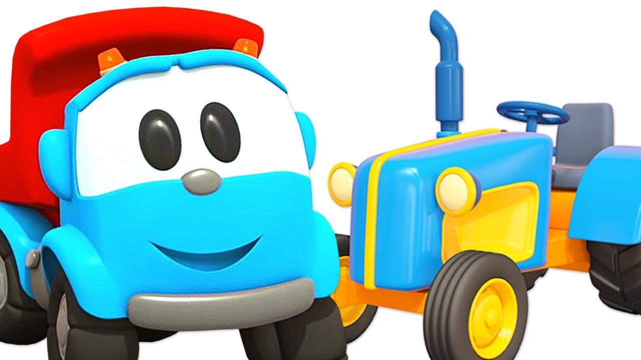 Car cartoon for kids – Leo the truck & Farm vehicles for kids
