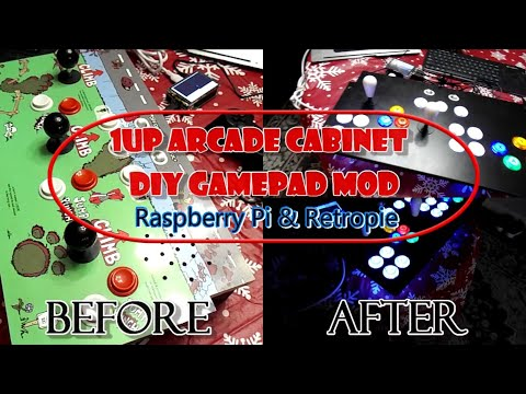1Up Arcade Gamepad MOD - DYI from iFilms Group Studios