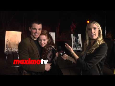 """Annalise Basso Interview """"The Red Road"""" PREMIERE by SundanceTV"""