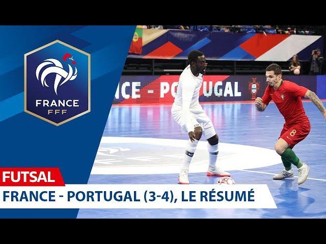Futsal, France-Portugal (3-4), le résumé I FFF 2019-2020