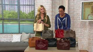 Dooney & Bourke Florentine Small Brenna Satchel Handbag on QVC