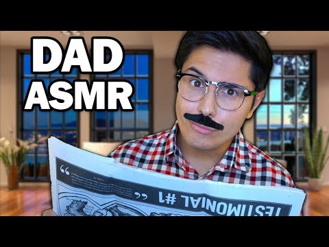 ASMR | Overprotective Dad Gets You Ready For A Party!