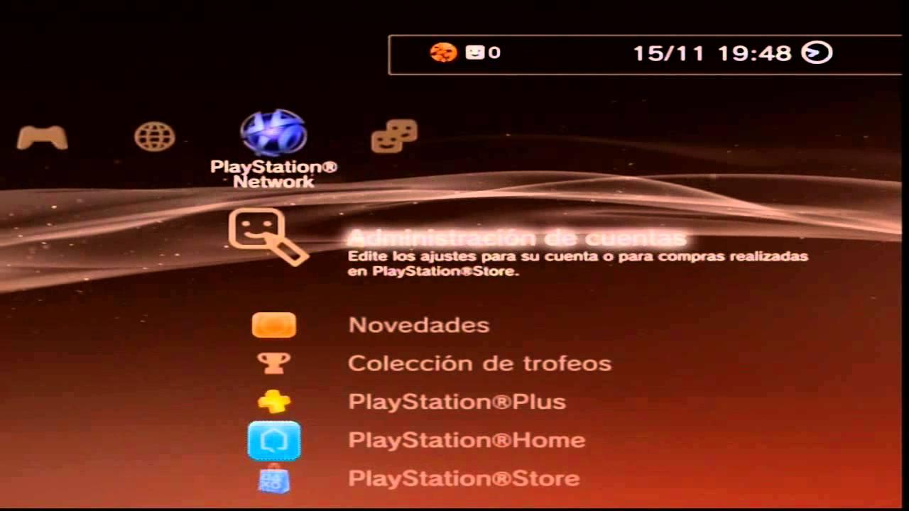 TUTORIAL COMO ACTIVAR O DESACTIVAR CUENTA PS3 ESPAÑOL - YouTube