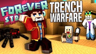 Minecraft - TRENCH WARFARE - Forever Stranded #2