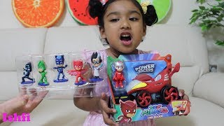 Unboxing PJ Mask Power Racer by Ishfi