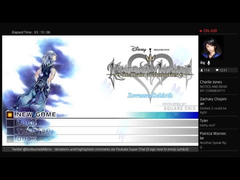 Kingdom Hearts COM PS4 Proud Mode Stream EP 5