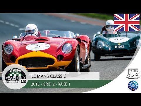 2018 Le Mans Classic - Grid 2 - Race 1