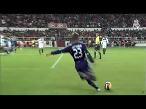 David Beckham saat di Real Madrid
