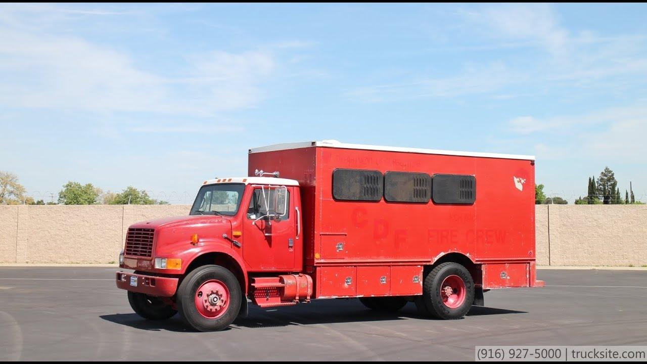 1992 international 4900 personnel carrier fire truck for sale youtube rh youtube com 1992 International 5070 1990 International 4900