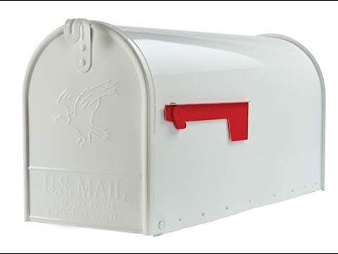 Gibraltar Mailboxes Elite Large Capacity Steel White Unboxing and Review