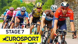 Tour de France 2019 | Stage 7 Highlights | Cycling | Eurosport