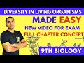 DIVERSITY IN LIVING ORGANISMS | CLASS 9 CBSE | IMPORTANT QUESTIONS