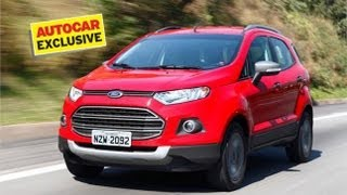 Ford EcoSport exclusive video review by Autocar India
