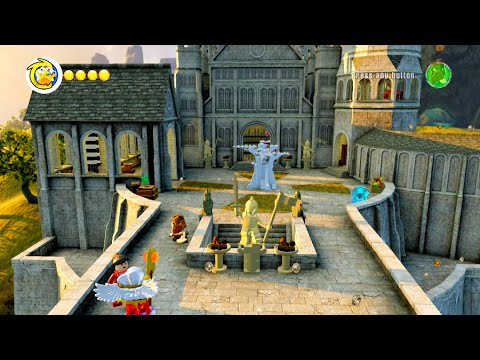 lego dimensions the lord of the rings world free roam all