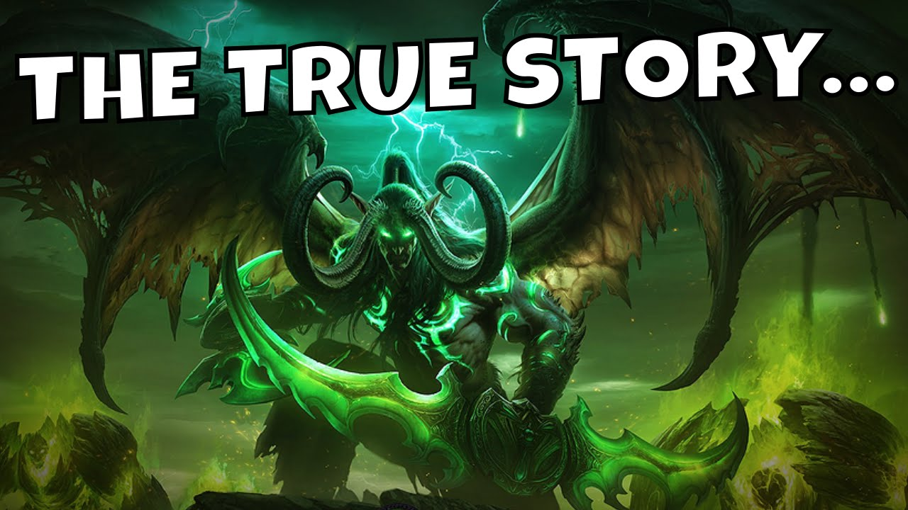Funny Fall Wallpaper The True Story Of Illidan Stormrage Warcraft Lore