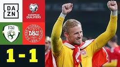 Dänemark sichert sich durch Remis das EM-Ticket: Irland - Dänemark 1:1 | EM-Quali | DAZN Highlights