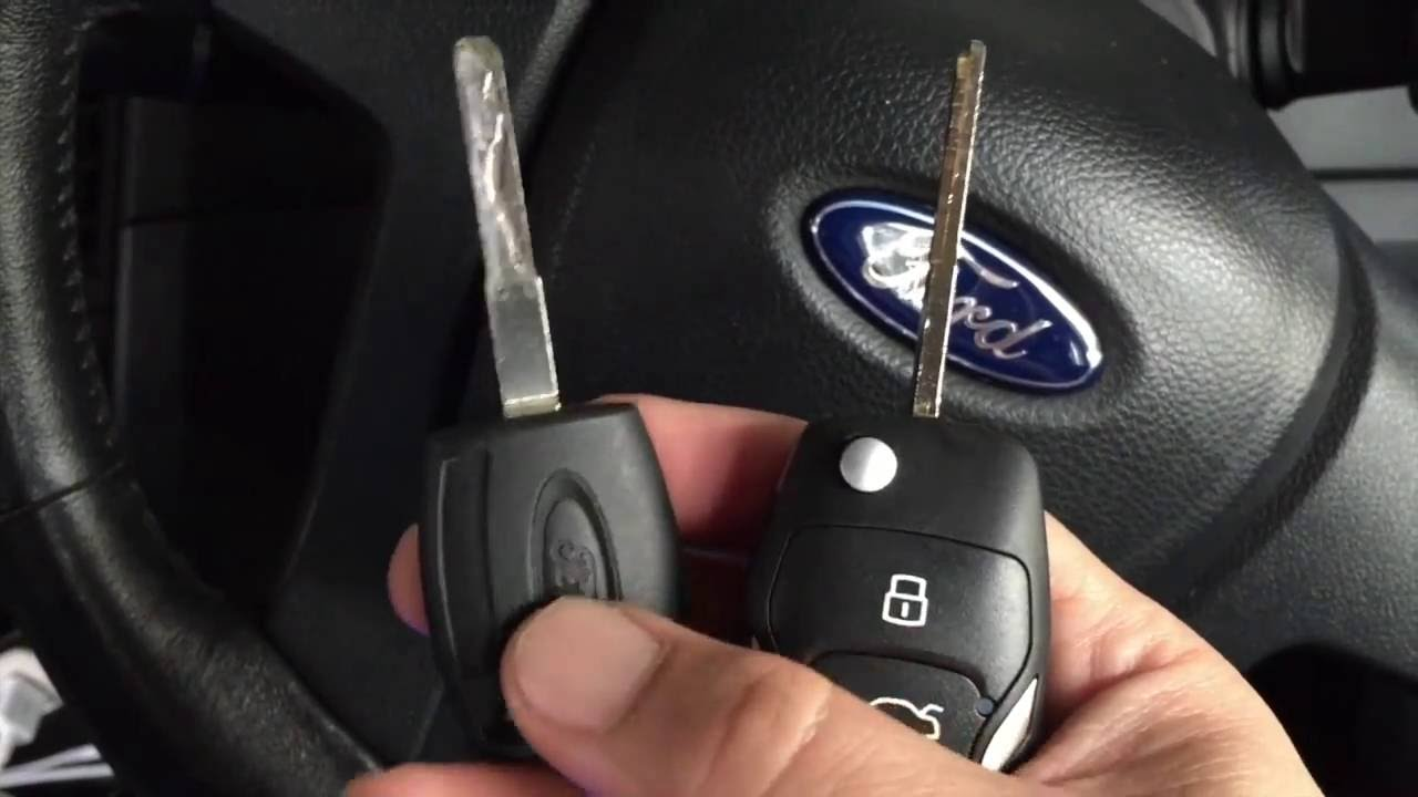 KEY MASTER ADD CHIP 6E FORD RANGER 2013