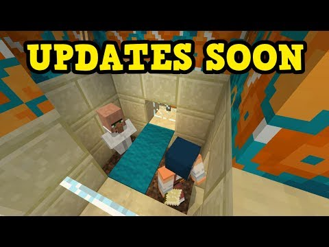 Minecraft PE 1.1 TRAILER - Console, PC, PE Update SOON