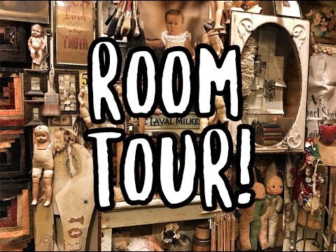 NEW FILMING ROOM TOUR! BIGGER! BETTER! FREAKIER? | GRAV3YARDGIRL ROOM TOUR