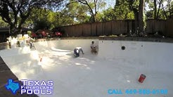 Texas Fiberglass Pool Resurfacing