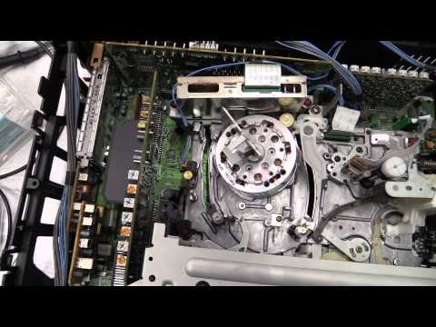 DrCassette's Workshop - Panasonic HS900 S-VHS VCR full service
