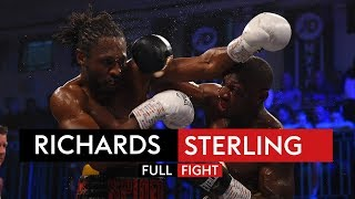FULL FIGHT! Craig Richards vs Andre Sterling