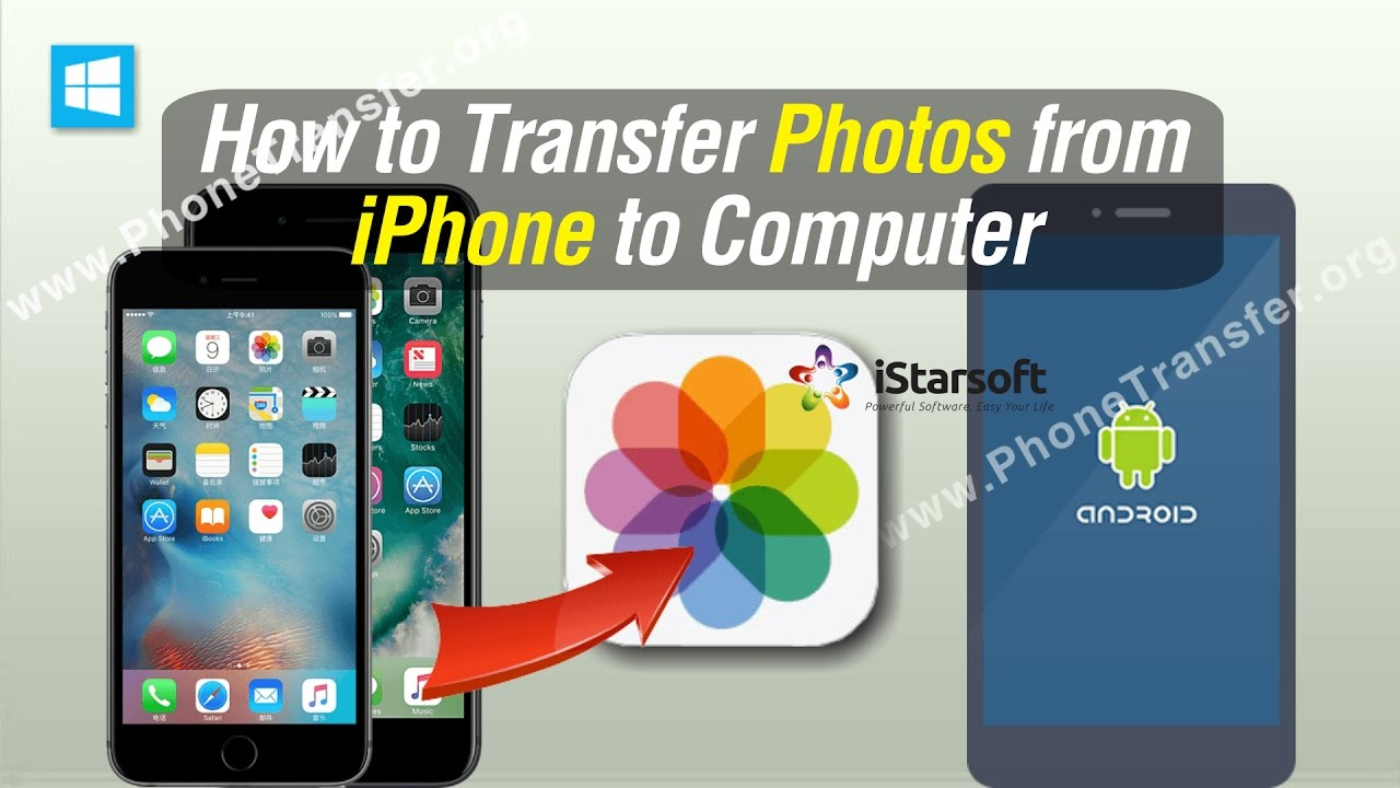 sending pictures from iphone to android how to transfer photos from iphone to android 5834