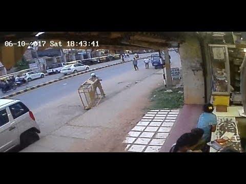 Arsikere Police Gopal threatening - camera02