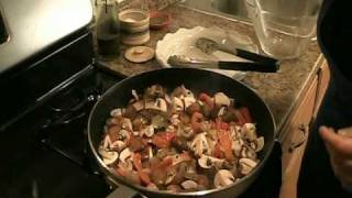 "Chicken Cacciatore Recipe - Laura Vitale ""Laura In The Kitchen"" Episode 9"